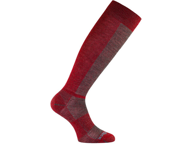Wrightsock Coolmesh II Merino OTC Socks grey/fire-red
